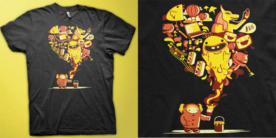 that design we love cool creative tshirt designs